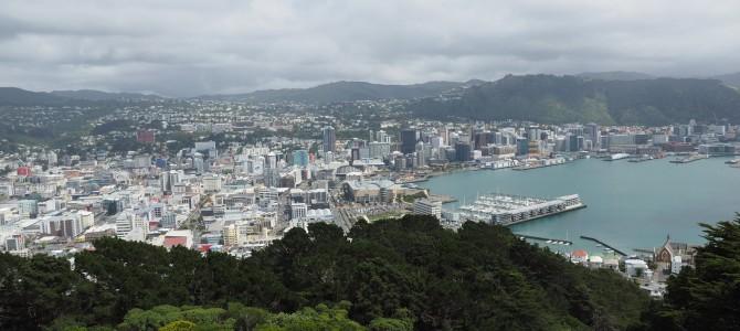 Wellington und Cook Strait