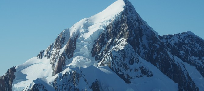 Gletscher zum Jahreswechsel